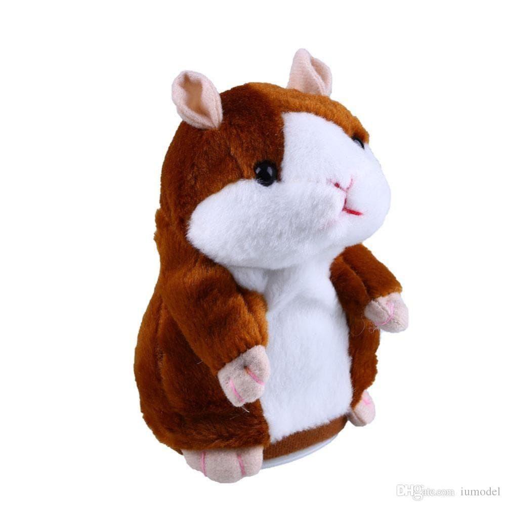 Talking Hamster Boneka Imut Bisa Bicara Peniru Suara dan Goyang  d106c6509f