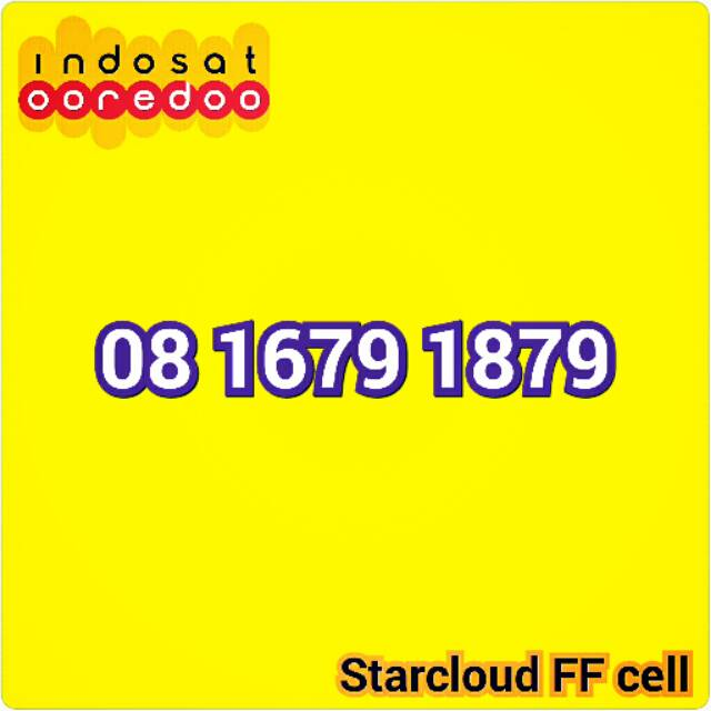 Perdana indosat Im3 Nomor Cantik Triple Urut Rapi 300 333 xx   Shopee Indonesia