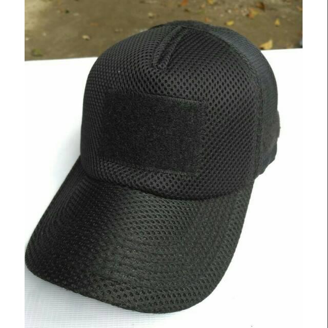 Topi Satpam Topi Jala SECURITY Topi Jaring Militer Polisi Army Tactical TNI  Satpam Security  81c08488f3