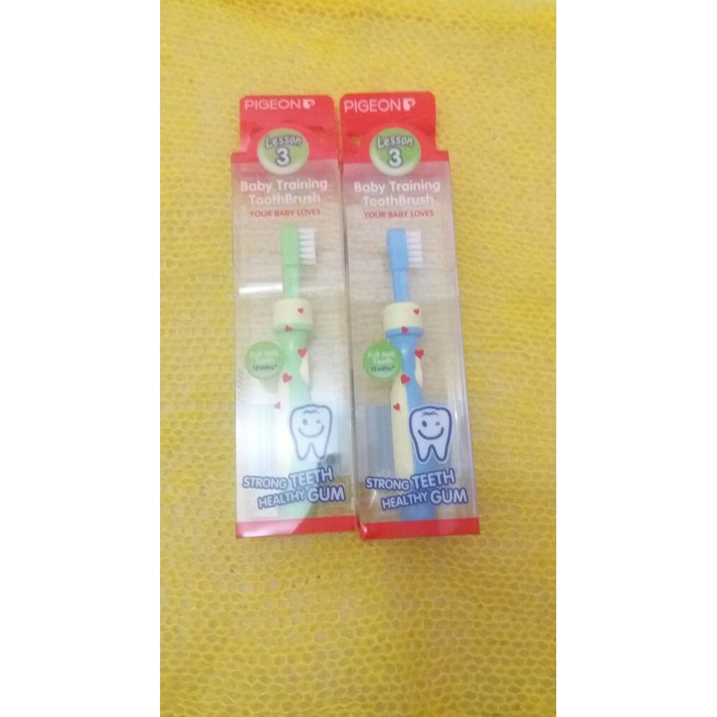 Pigeon Training Tootbrush Set L 123 Paket Sikat Gigi Anak - Daftar ... 7f34d51581