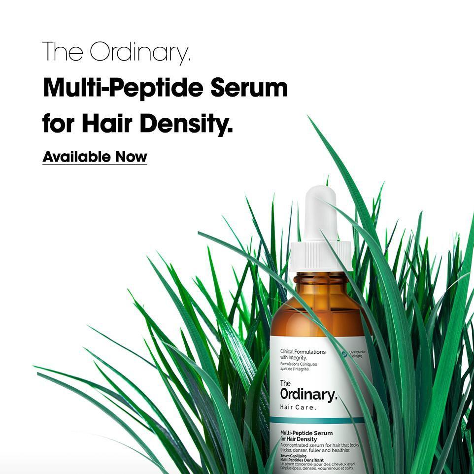 The Ordinary Multi Peptide Serum For Hair Density 60ml Shopee Indonesia