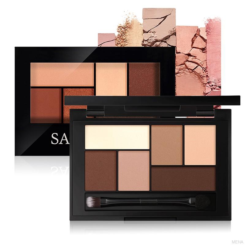 SACE LADY(100%!! ORI) Palet Eyeshadow 6 Warna Anti Air / Noda