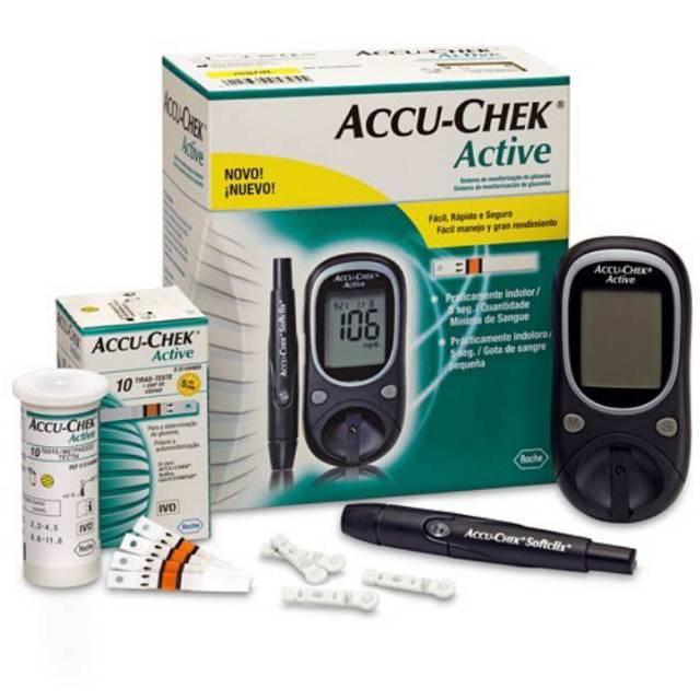Alat cek gula darah accu check - accu check active