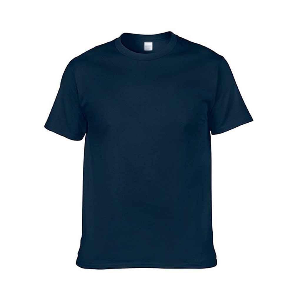 Kaos T-Shirt Lengan Pendek Bahan Katun Warna Polos untuk Musim Panas / Semi | Shopee Indonesia