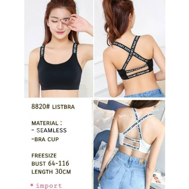 Tanktop Wanita Basic Tali Kecil / Singlet tali kecil XL Putih Import Murah Premium Quality | Shopee Indonesia