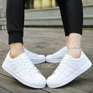 Vahn Cila Sepatu Kets Sport Wanita Casual Sneakers White Putih