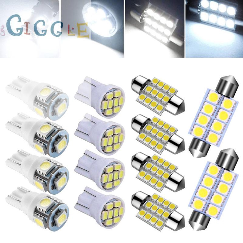 Car Interior Panel 12SMD LED White Map Dome Light Lamp Super Universal Fit