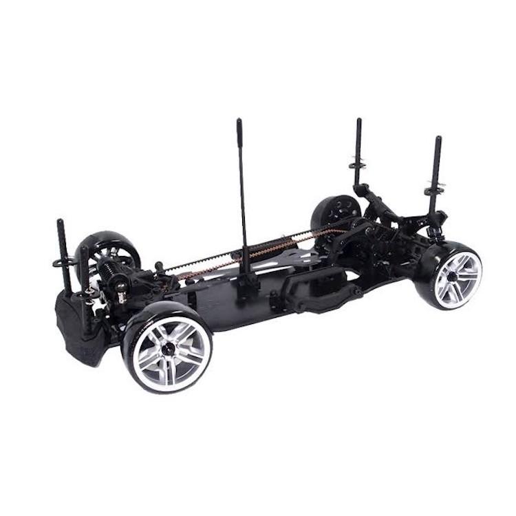 3Racing Sakura D4 AWD Aluminum Slide Steering System Black RC Cars #SAK-D4845//BK