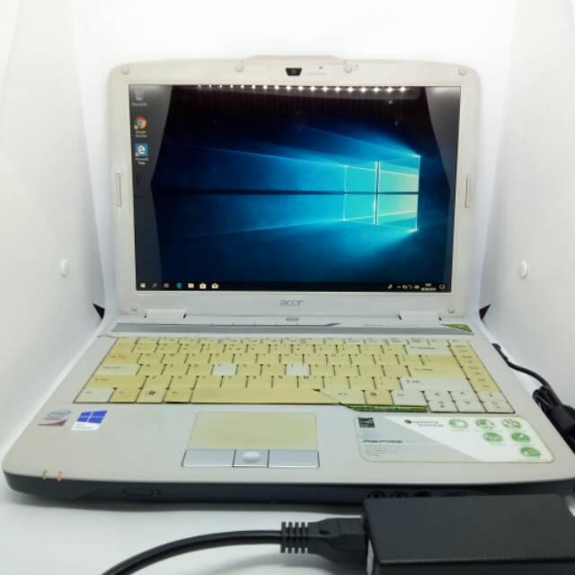 Laptop Second Ram 4gb Ssd 256gb Intel Core 2 Duo Acer Aspire 4720