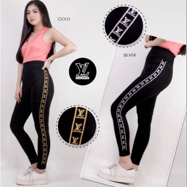 Celana Legging Fashion Import Leging Strech Olahraga Senam Fashion Wanita Shopee Indonesia