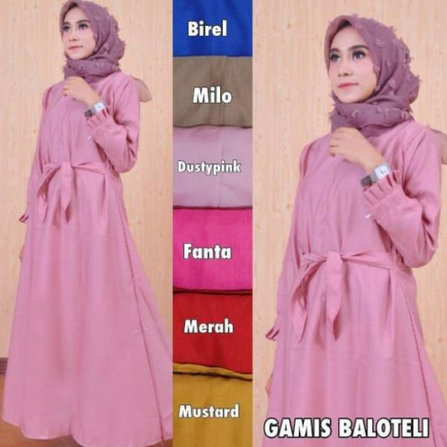 Belanja Online Dress Muslim Fashion Muslim Shopee Indonesia