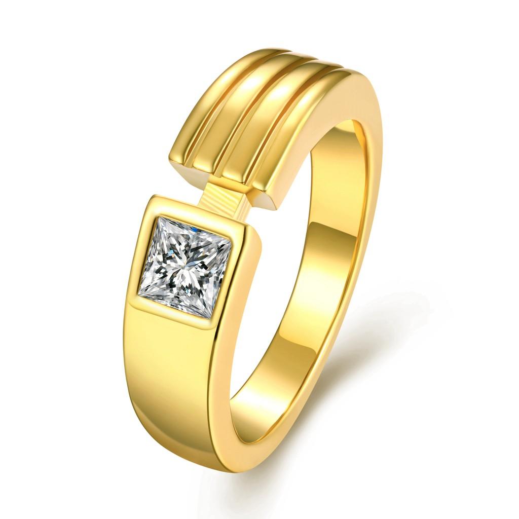 Tiaria Djxjz012 Perhiasan Emas Cincin Putih 9k Dan Zircon Dhtxdfj047 White Gold Shopee Indonesia