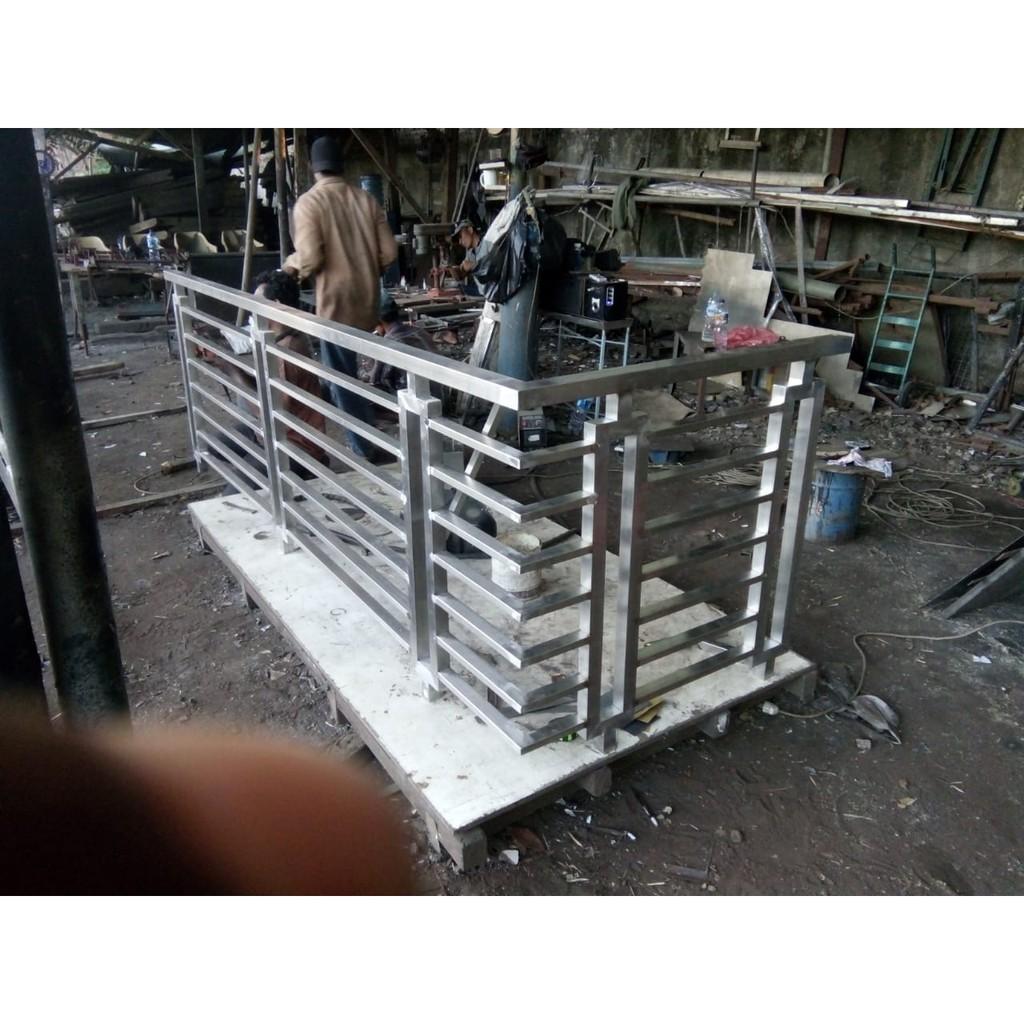 Pemasangan Pagar Stainless Steel | Shopee Indonesia