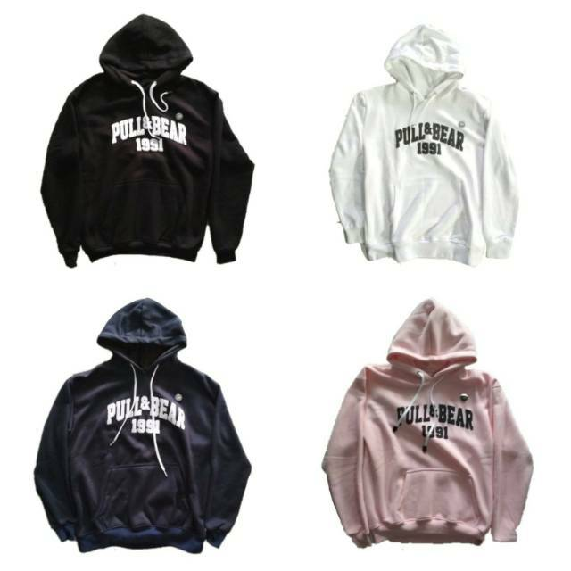 Hoodie Pull And Bear Vintage Shopee Indonesia