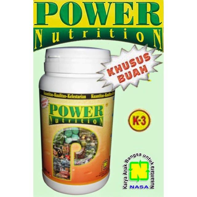 Asli POWER NUTRITION 500gr [POWER] PUPUK ORGANIK NASA KHUSUS TANAMAN BUAH Murah | Shopee Indonesia
