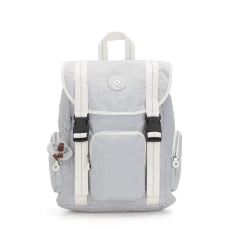 Kipling original store izir active grey br - kipling backpack - tas ransel kipling - tas kipling