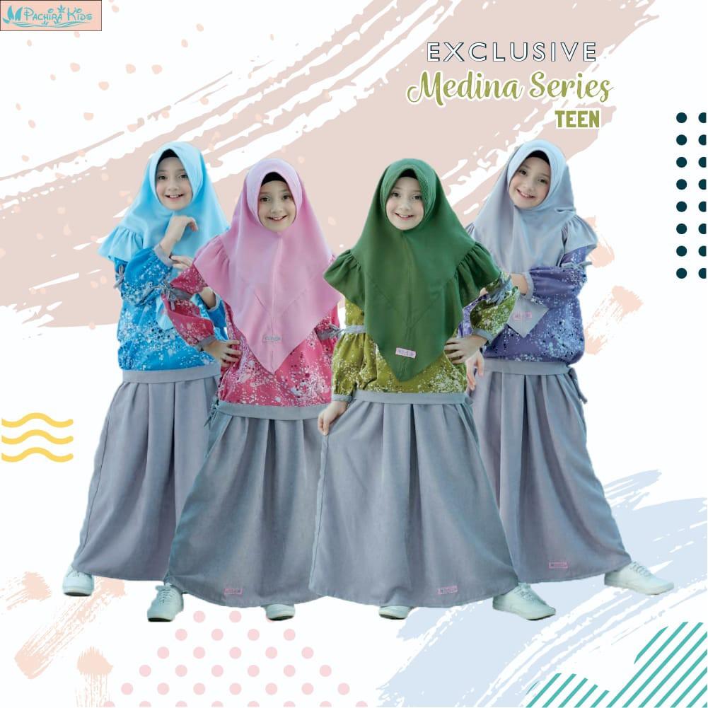 Gamis Anak Medina by Pachira Kids