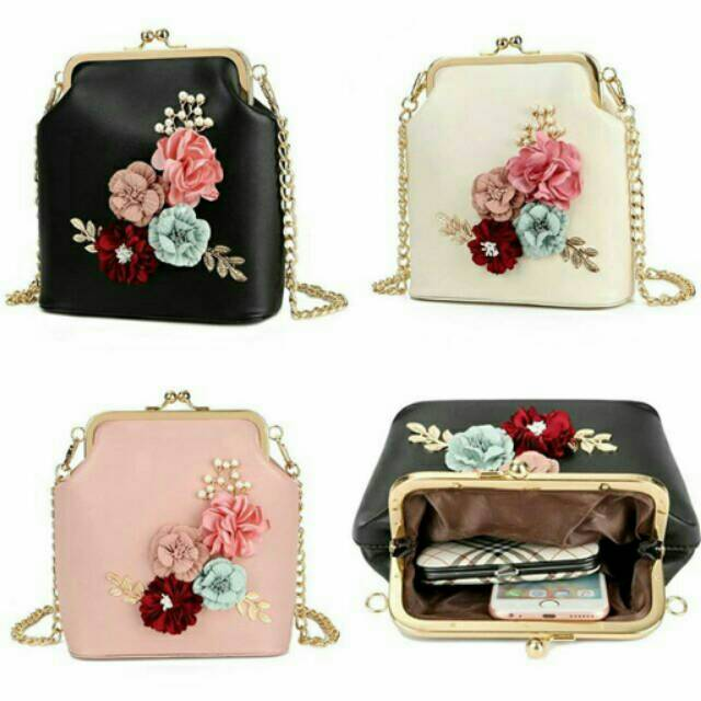 Glitter Box Clutch   Tas pesta   slingbag bling bling  10f7e64e74