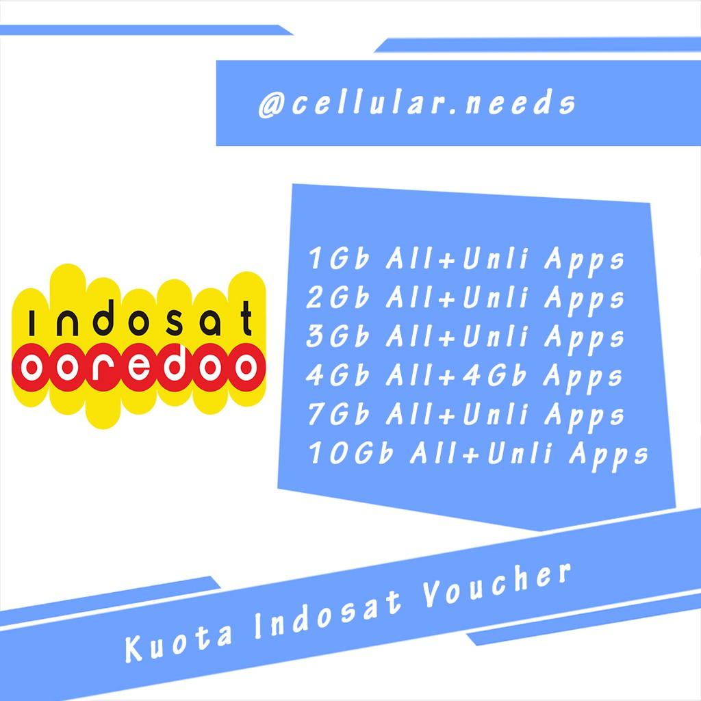 Kuota Indosat 1gb Yellow Shopee Indonesia Voucher Mini