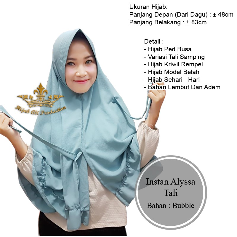 Jilbab Instan Rempel Tali Hijabfest