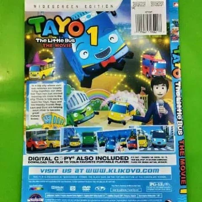 Promo Dvd Film Kartun Anak Anak Terbaru Tayo The Movie 1 Termurah Shopee Indonesia