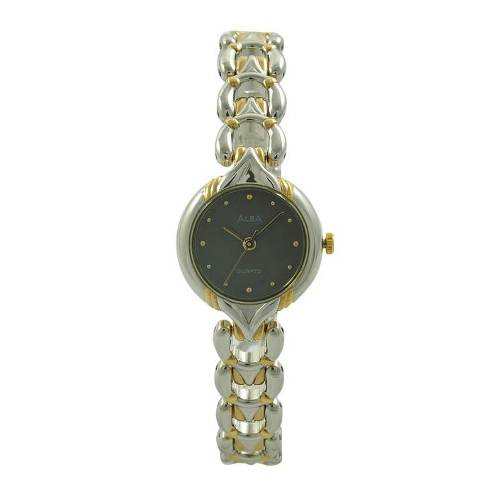 Jam Tangan Wanita Original ALBA ARYJ98 Gold Bergaransi  9c82a4ffe1