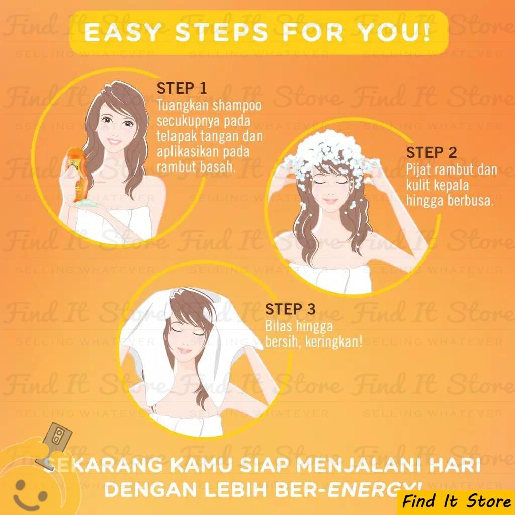 Makarizo Hair Energy Fibertherapy Conditioning Shampoo 10ml 10 ml Sampo Pembersih Rambut 2in1-5