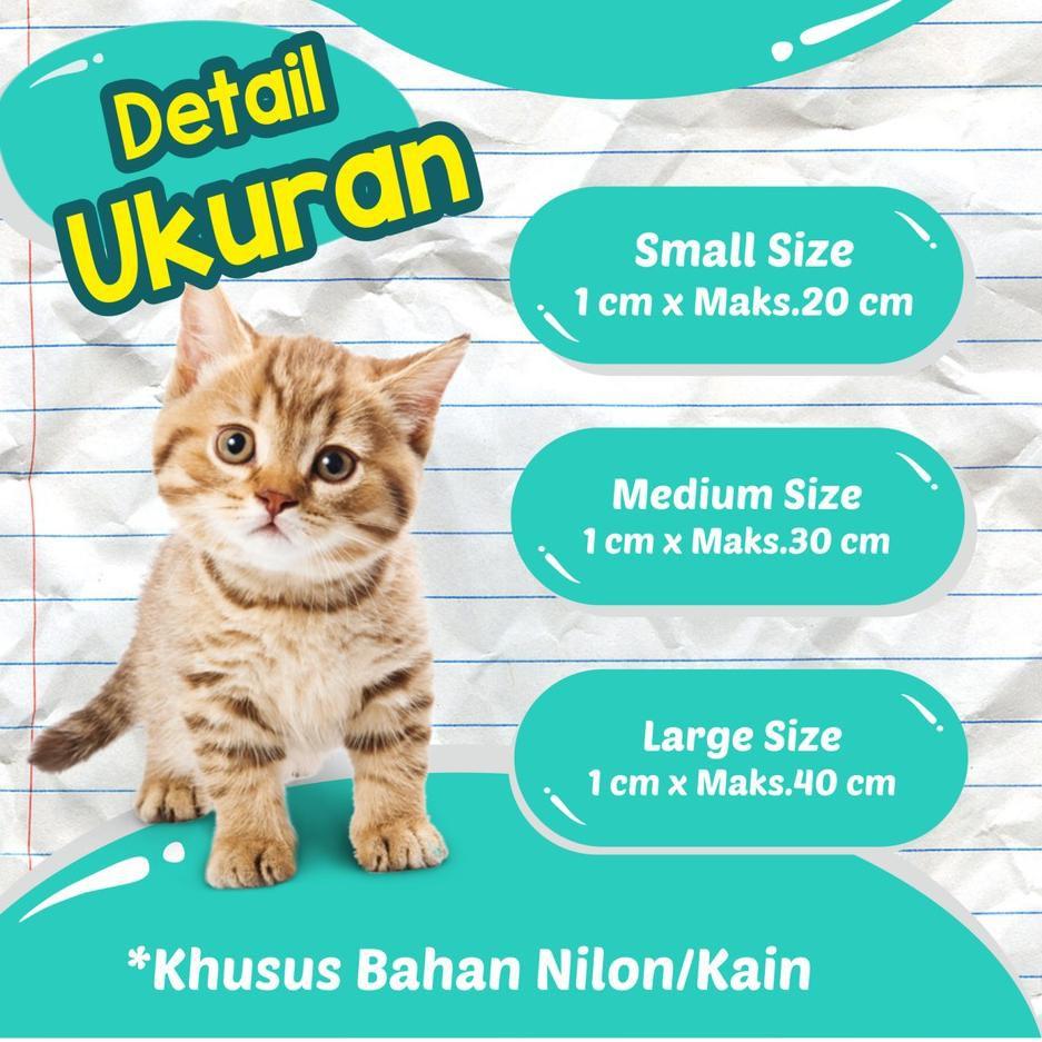 Kode Barang 438 Tp01 Kalung Custom Nama Kucing Anjing Gratis Nama Aksessoris Hewan Murah Shopee Indonesia
