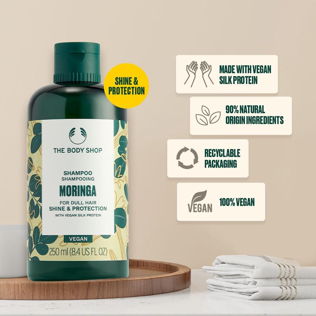 The Body Shop Moringa Shampoo 250ml-2