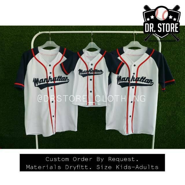 73663be3b Jersey Baseball Big Size - Jersey Jumbo M-XXL