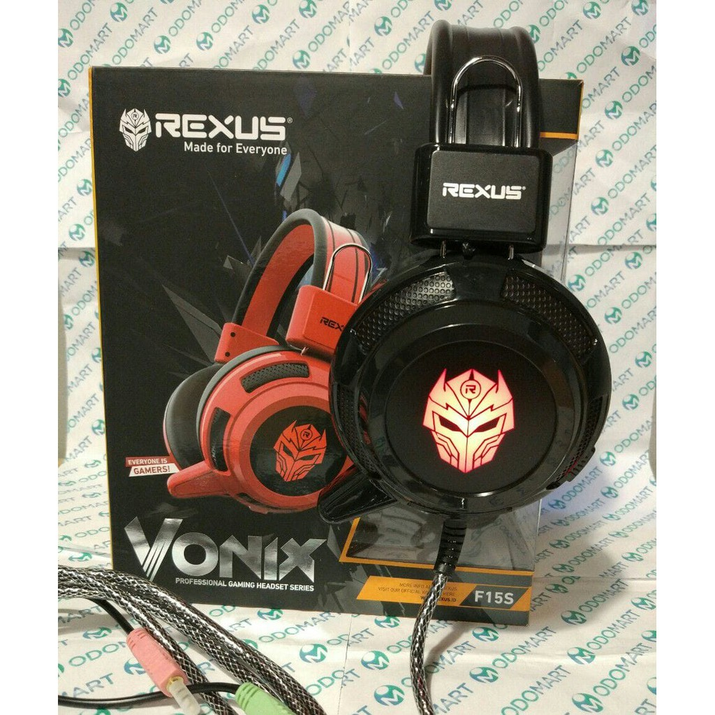 Headset Gaming Rexus Vonix F26 Professional Hitam Shopee Indonesia