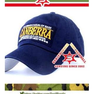 BiG PROMO Topi Bordir Urban Canberra Topi Baseball Import Topi Pria . e1e3875bea