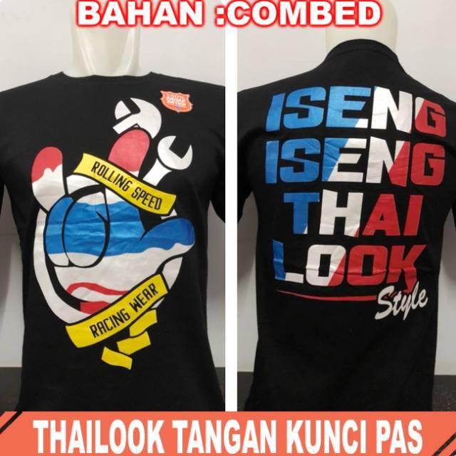 Kaos pria thailook kotak | Shopee Indonesia -. Source · Vanwin - Kaos Distro Premium