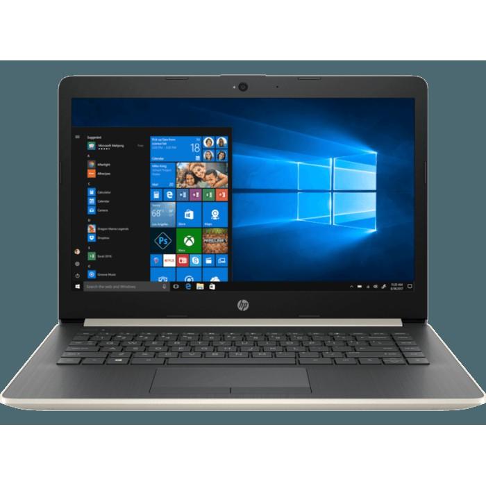Hp Laptop 14 Ck0011tu Intel Celeron N4000 14 4gb 1tb W10 No Odd Gold Shopee Indonesia