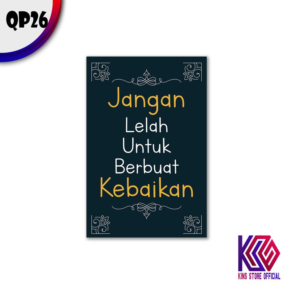Hiasan Kamar Dekorasi Dinding Rumah Minimalis Quotes Murah Berkualitas -  QP26 | Shopee Indonesia