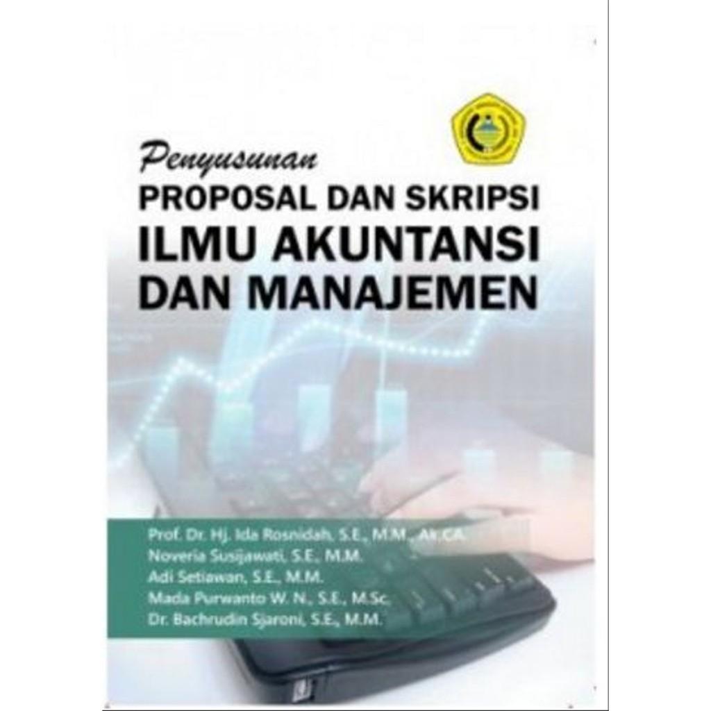 Buku Ajar Penyusunan Proposal Dan Skripsi Ilmu Akuntansi Dan Manajemen Deepublish Shopee Indonesia