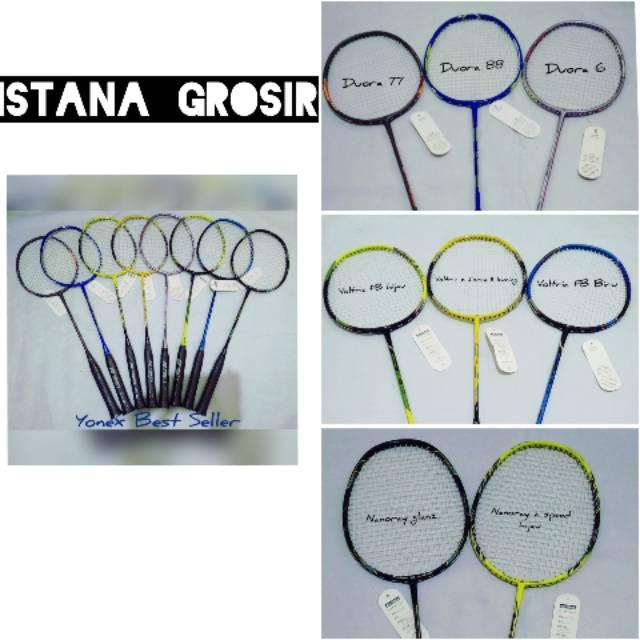Raket Badminton Yonex Carbonex 25 Spesial + senar+ tas +grip   Shopee Indonesia