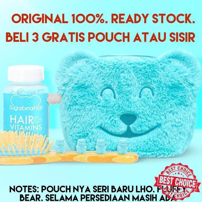 [100% ORIGINAL USA] Sugarbearhair Sugar Bear Hair | Shopee Indonesia