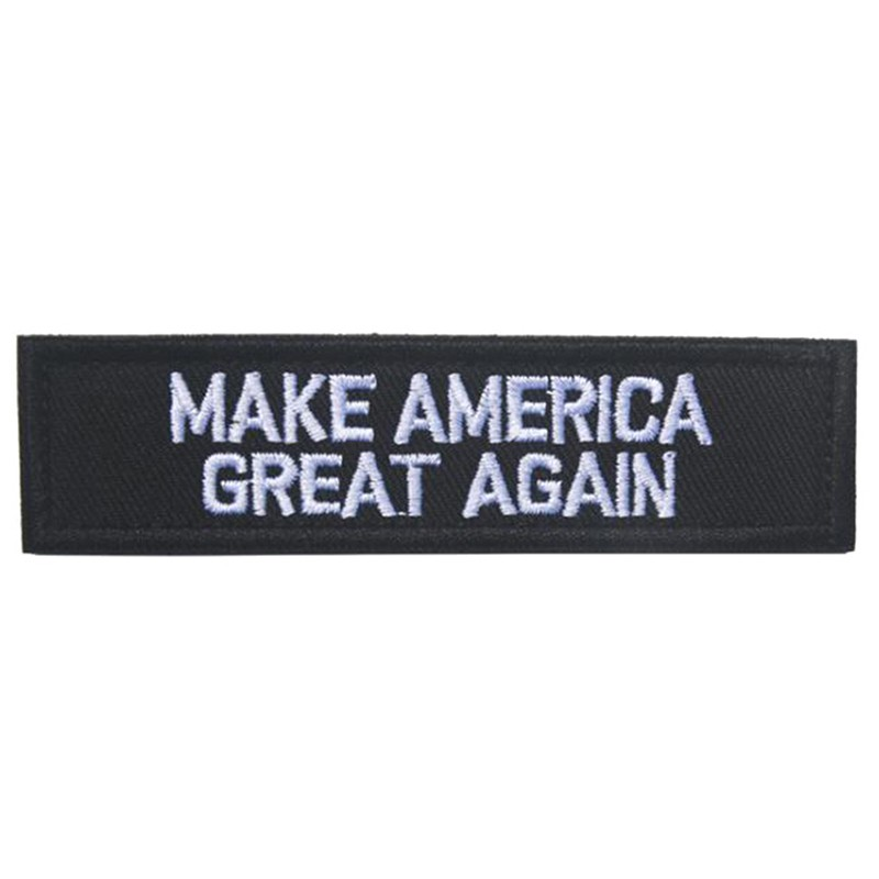 Trump pence 2020 kooping America Great BADGE EMBROIDERED HOOK PATCH