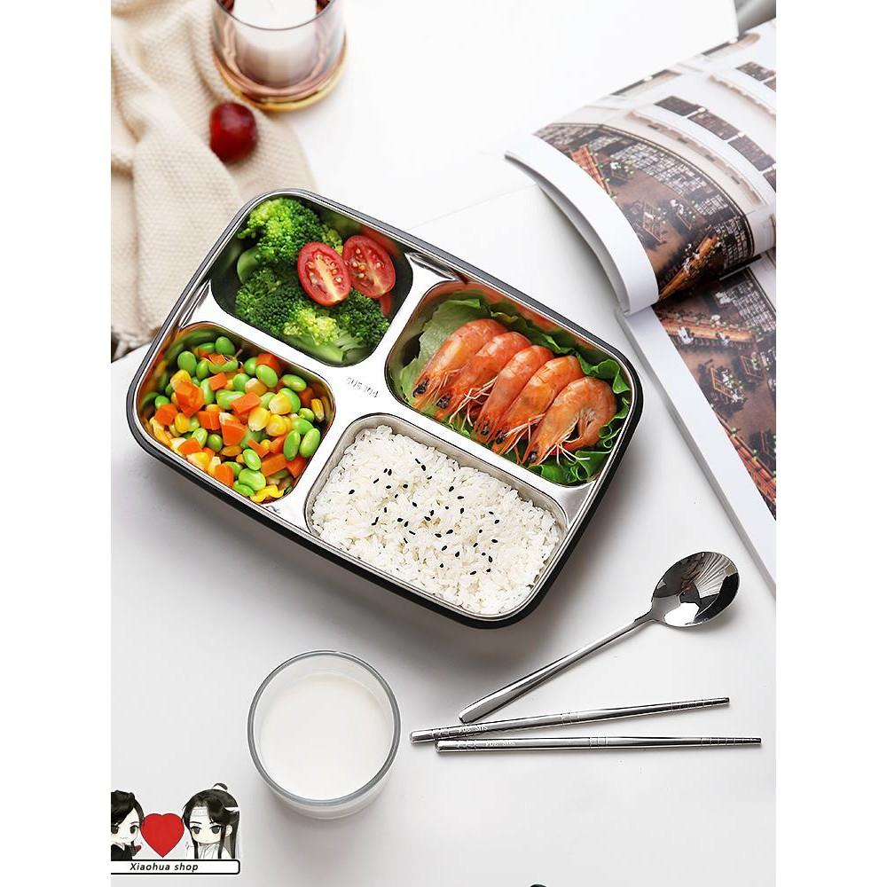 Kotak Makan Siang Dengan Bahan Stainless Steel Dan Gambar Motif Lucu Untuk Dewasa