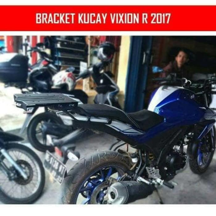 breket Kucay HDR Yamaha New Vixion Lightning and advance NVL NVA | Shopee Indonesia