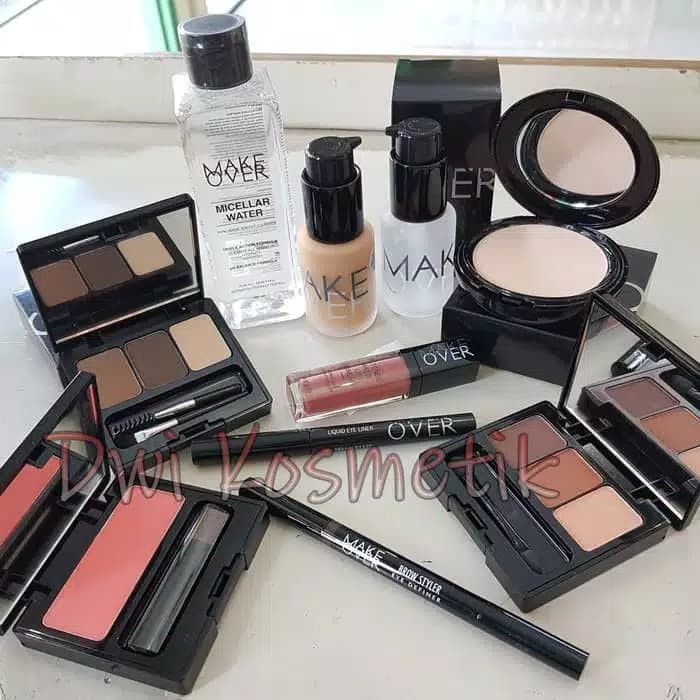 Alat Makeup Kosmetik Wajah Lengkap Murah Make Over Paket Make Up 3 Shopee Indonesia
