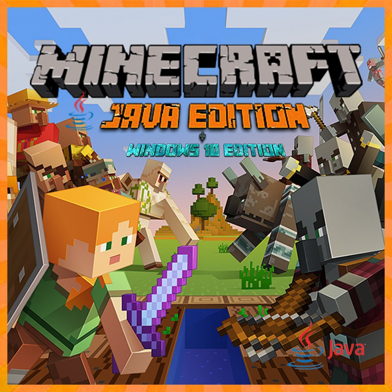 Minecraft Premium Java Edition Full Akses Pc Mac Shopee Indonesia