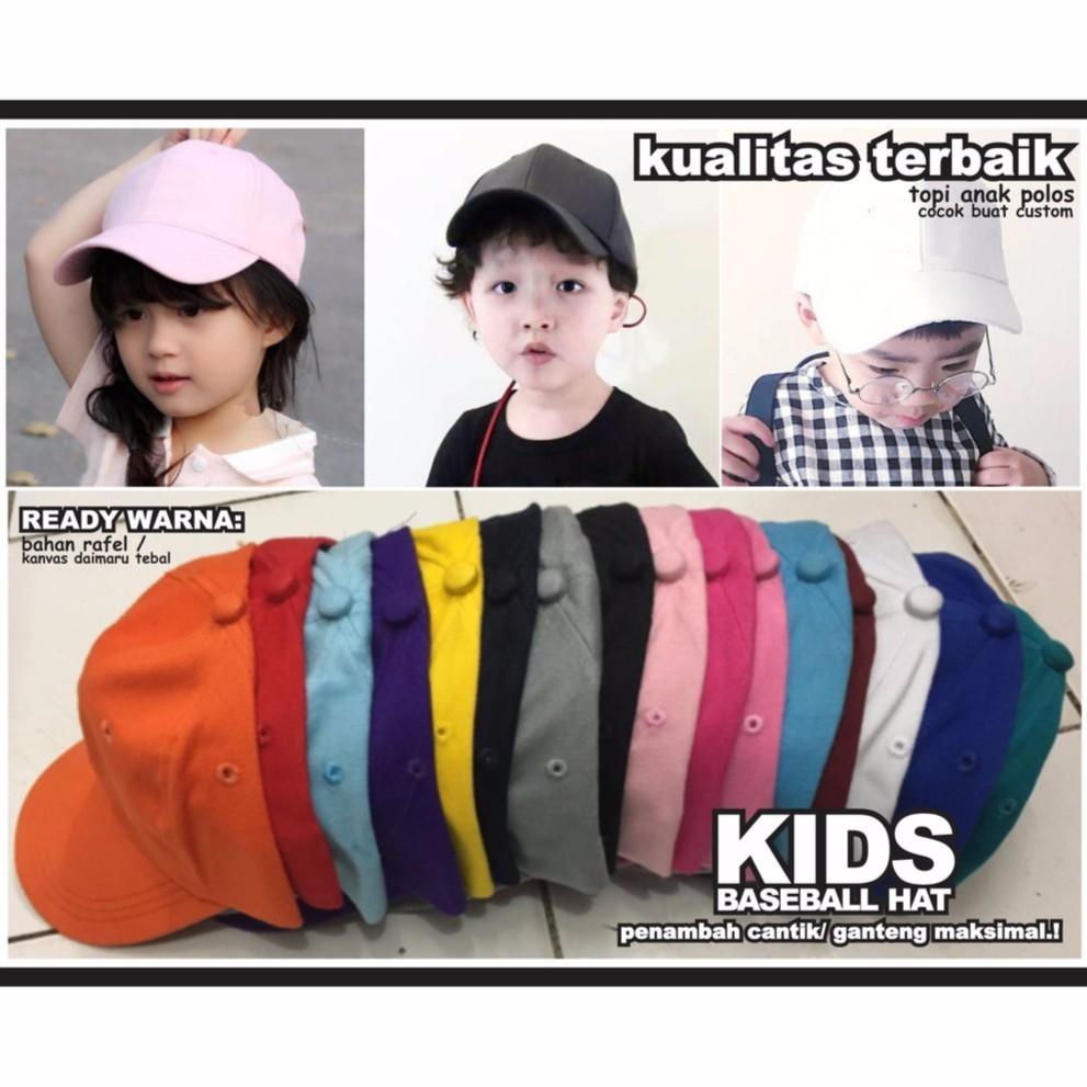 Dapatkan Harga Topi Baseball Bayi   Anak Diskon  71f6e366a3