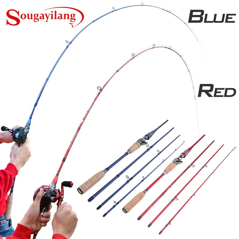 Jigging Fishing Rod 2.1 Japan Guide Lure Weight 3 Sections Carbon Fiber Spinning