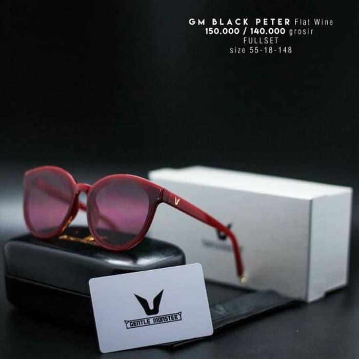 Kekinian Kacamata fashion Gentle Monster Black Peter Termurah ... 028f238809
