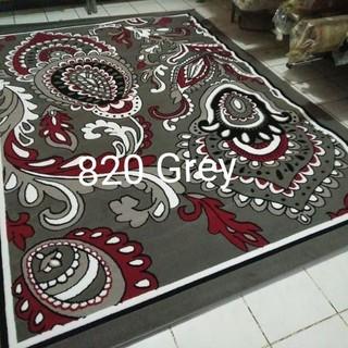 customer00082- karpet permadani abu-abu grey momento