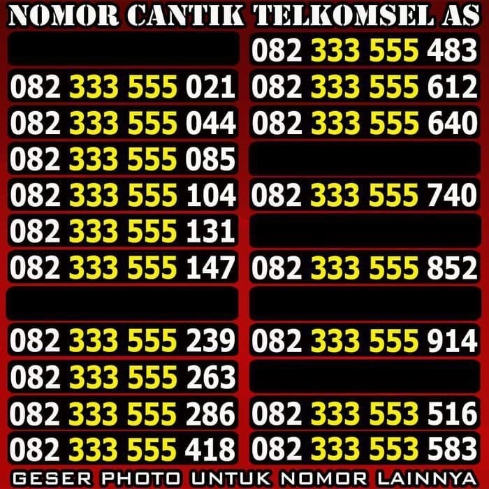 nomor cantik telkomsel triple - Temukan Harga dan Penawaran Kartu Perdana Online Terbaik - Handphone &