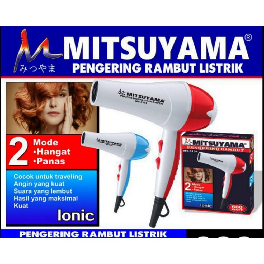 Hair Dryer Pengering Rambut Mini Mitsuyama Ms 5101 Shopee Indonesia Hairdryer Fleco Bisa Dilipat