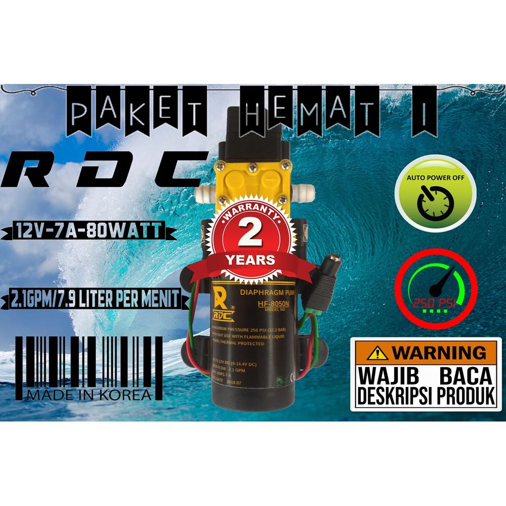Pompa Air Diafragma tekanan tinggi Electric Pump 12V - Black G705   Shopee Indonesia